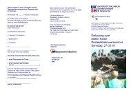 Weitere Informationen - UKSH Universitätsklinikum Schleswig ...