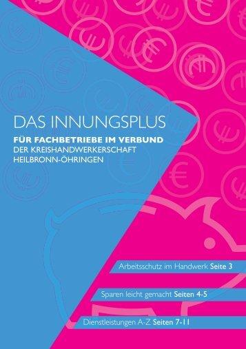 INNUNGSPLUS (Meister)Fachbetrieb der Innung