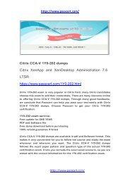 Citrix CCA-V 1Y0-202 dumps