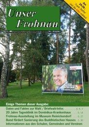 Unser Frohnau 86 (September 2017)