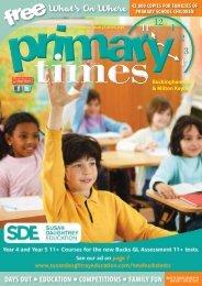 Primary Times Buckinghamshire BTS17