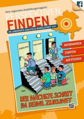 Lehrstellen-Börse / Magazin Landkreis Saalfeld-Rudolstadt in Thüringen - 2017