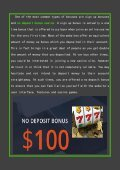 An In-Depth Overview of No Deposit Bonuses In Casinos - Page 2