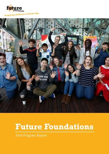 201705-Future Foundations-2016 Program Report-2
