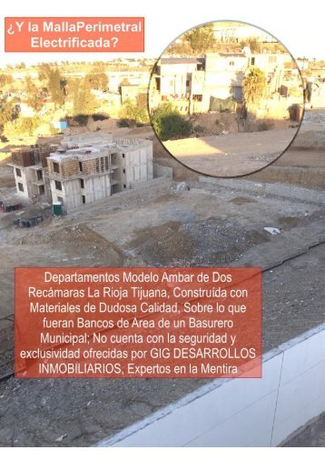 Resultados de Abel Jimenez como Agente Inmobiliario Lider de GIG vs El Engaño Calumnia y Daño Moral d ela Empresa