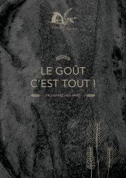 Pains & Tradition - Catalogue produits 2017