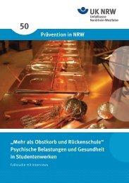 Mehr als Obstkorb und Rückenschule - Unfallkasse NRW
