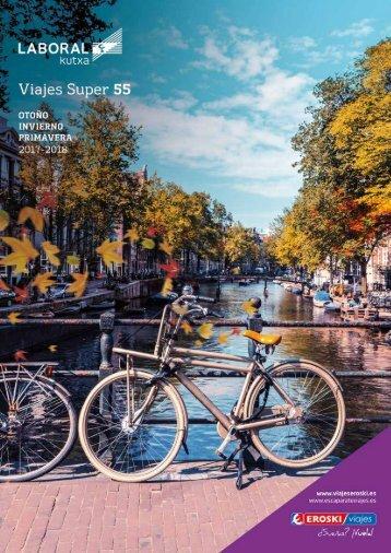 Catálogo Viajes Eroski Super 55 Otoño - Invierno 2017