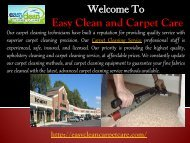 Citrus Heights Carpet cleaning