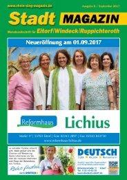 Stadtmagazin Eitorf, Windeck, Ruppichteroth