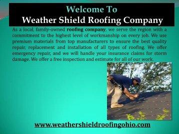 Roof Repair in Dayton