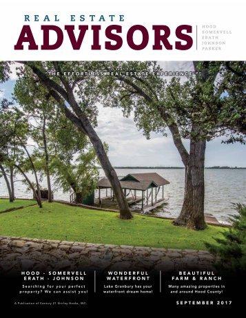 The Real Estate Advisors Magazine - September 2017