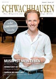 SCHWACHHAUSEN Magazin | September-Oktober 2017