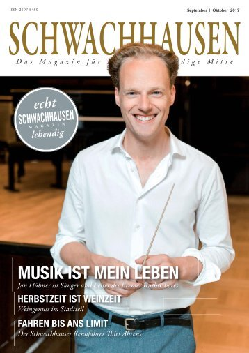 SCHWACHHAUSEN Magazin | September-Oktober 2017