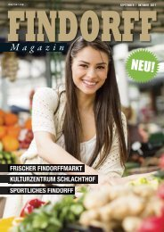 FINDORFF Magazin | September-Oktober 2017