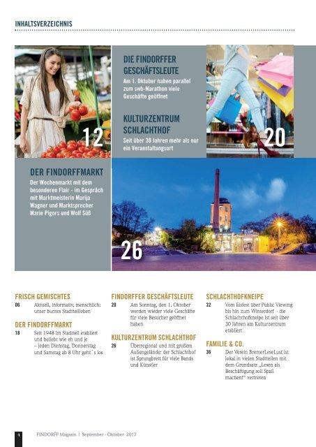 FINDORFF Magazin   September-Oktober 2017