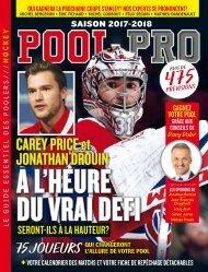 Pool Pro Saison 2017-2018 fr