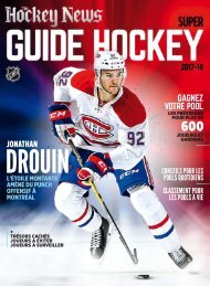 The Hockey News  Super Guide Hockey 2017-2018 fr