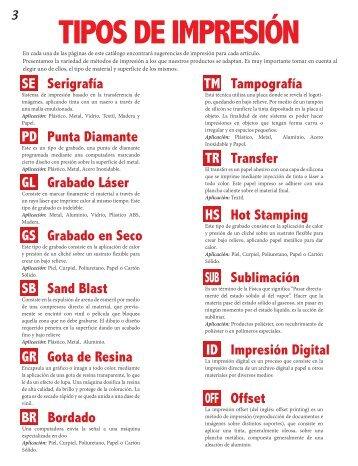 5 TIPOS DE IMPRESION