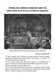Alberto Spadolini & Mila Parely - STORIA DEL CINEMA FRANCESE ANNI '30