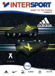 Catálogo INTERSPORT futbol del 4 al 24 de Septiembre 2017