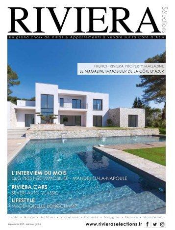 Riviera Sélections - Septembre 2017