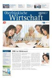 Oberfränkische Wirtschaft Ausgabe 09.2017