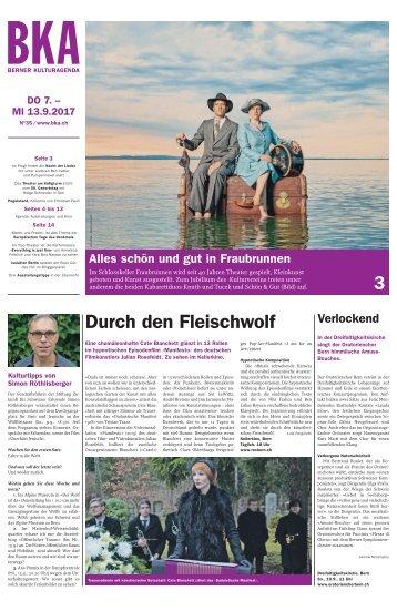 Berner Kulturagenda 2017 N° 35