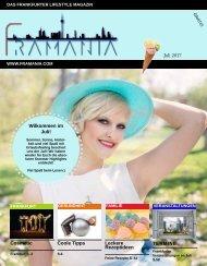 Framania Magazin Ausgabe Juli  2017