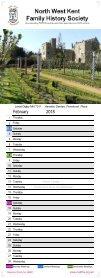 2018 Calendar  - Page 4