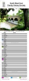 2018 Calendar  - Page 7