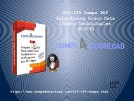 Free Download PDF Dumps For Exam 200-155 | 200-155 Dumps PDF