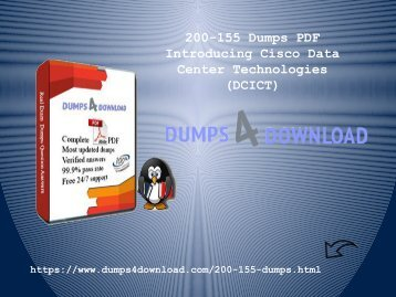 Free Download PDF Dumps For Exam 200-155 | 200-155 Dumps PDF