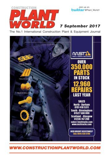 Construction Plant World - 7th September 2017