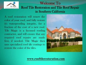 Commercial Roof Repair in San Diego County, CA
