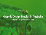 Graphic Design Studios in Australia