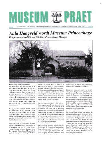 Museum Praet mei 2003