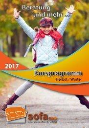 SOFA-Herbst-Winter-Programm 2017
