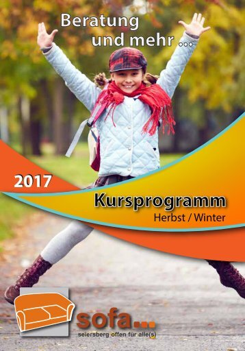 SOFA-Herbst-Winter-Programm 2017