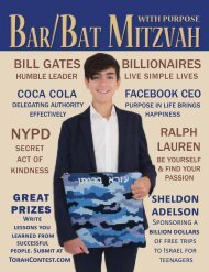 Bar Mitzvah Magazine 2018