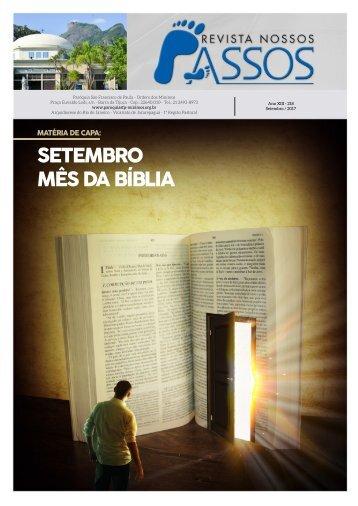 Revista Nossos Passos ed. Setembro