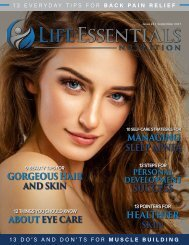 Life Essentials Magazine - September 2017