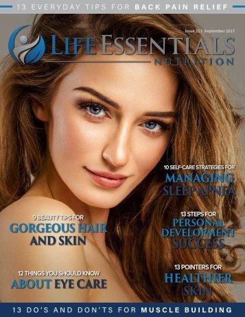 Life Essentials Magazine - September 2017