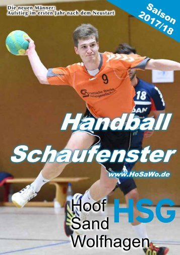 Handball Schaufenster 2017/2018