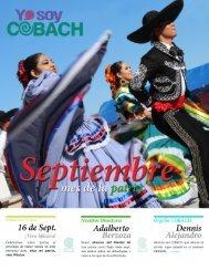 REVISTA Yo soy COBACH Septiembre