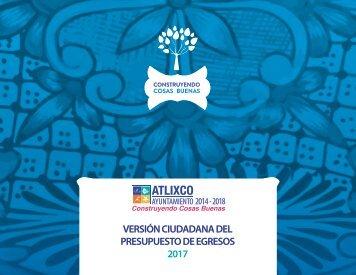 Versión Ciudadana del Presupuesto de Egresos  2017.