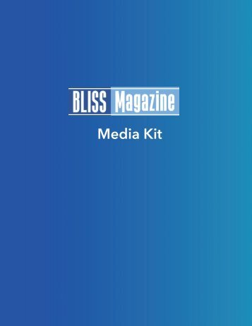 BLISS - Media Kit - Sep 2017