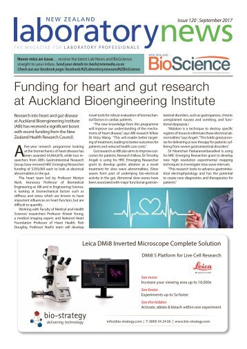 Laboratory news & BioScience September 2017
