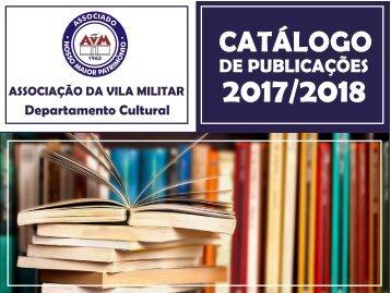 CATALOGO LIVROS 2017/2018 DEPARTAMENTO CULTURAL AVM
