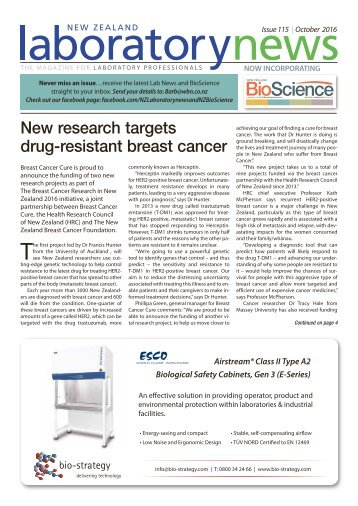 Laboratory News & BioScience October 2016